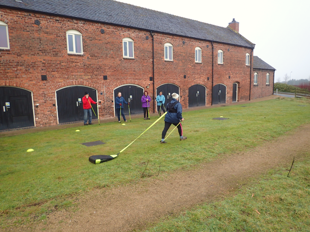 Human-Nature Escapes CIC - Nordic Walking Course at Keele