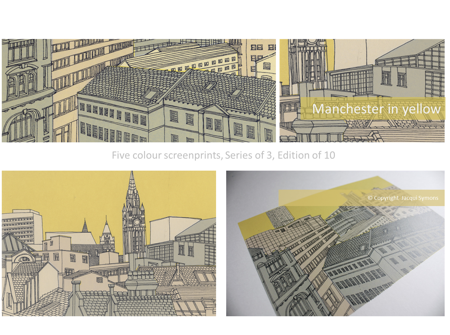 Jacqui Symons Gallery - Manchester In Yellow