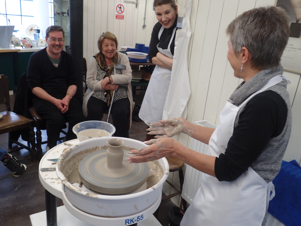 Human-Nature Escapes CIC - Therapeutic Pottery Courses 2