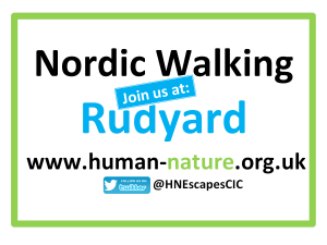 Nordic Walking Join Us at Rudyard