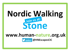 Nordic Walking Join Us at Stone