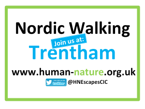 Nordic Walking Join Us at Trentham