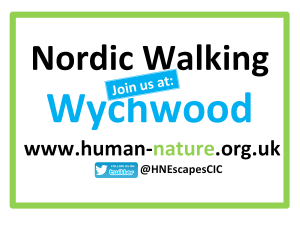 Nordic Walking Join Us at Wychwood