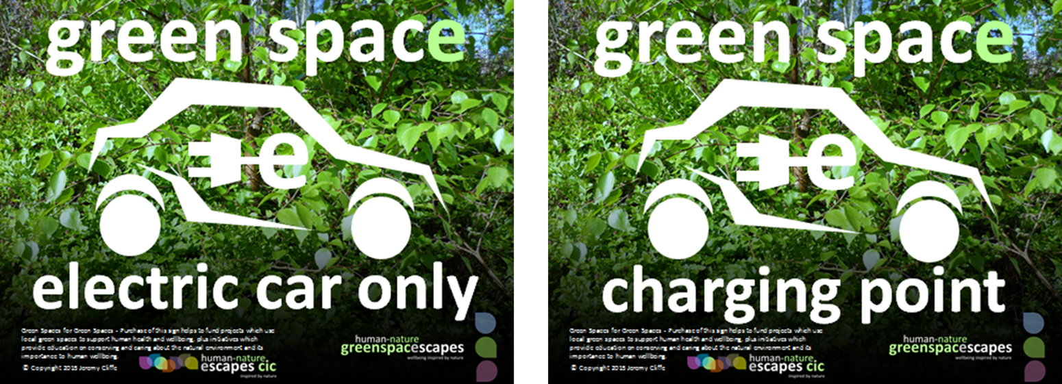 Human-Nature Escapes CIC - Electric Vehicle Signs