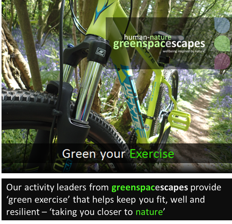 Human-Nature Escapes CIC - Green Your Exercise