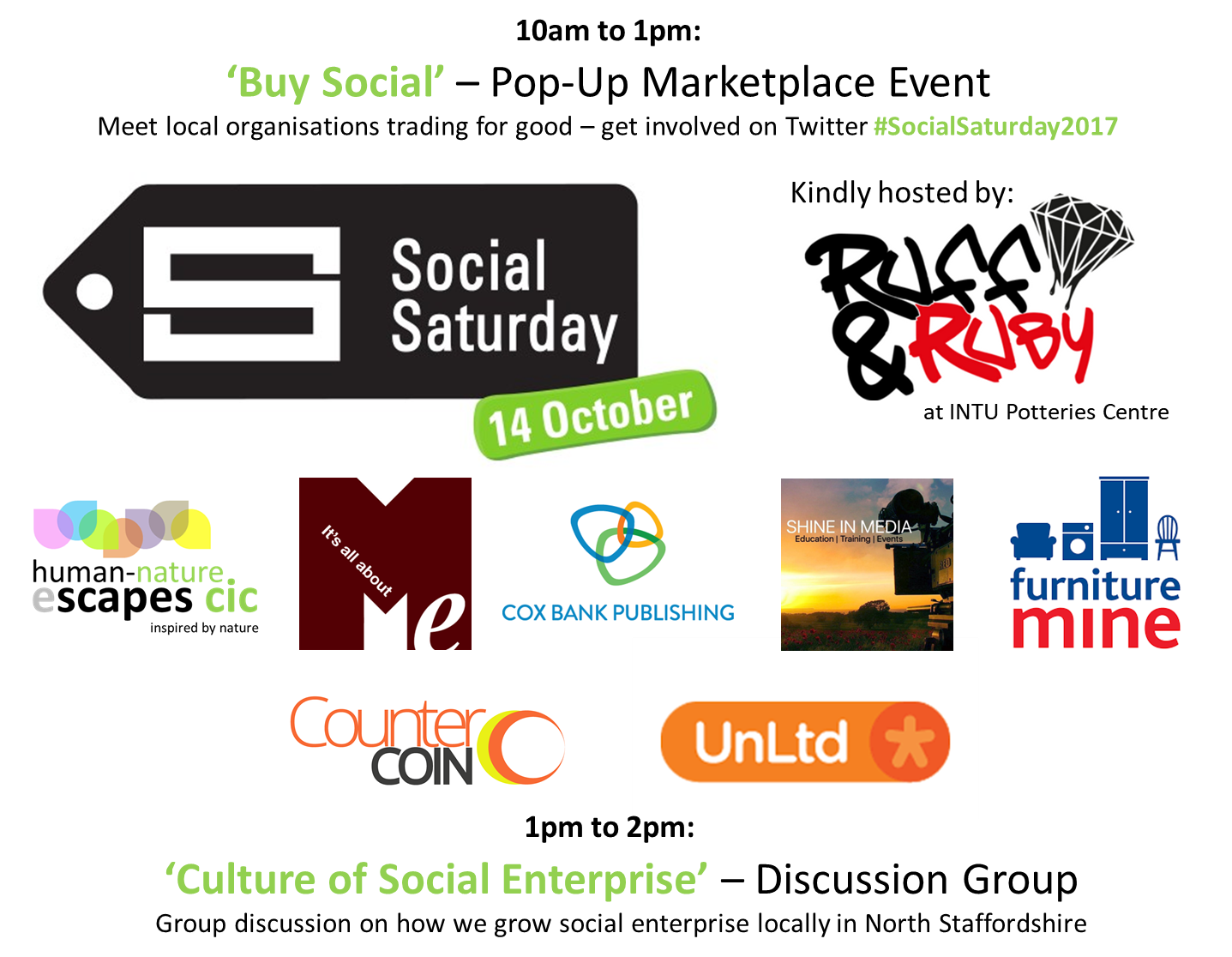 Social Saturday 2017 Agenda