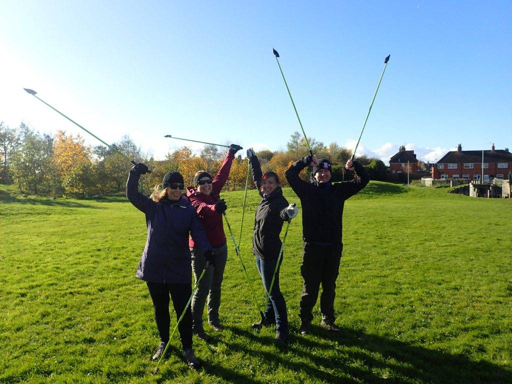Human-Nature Escapes CIC - Nordic Walking Course