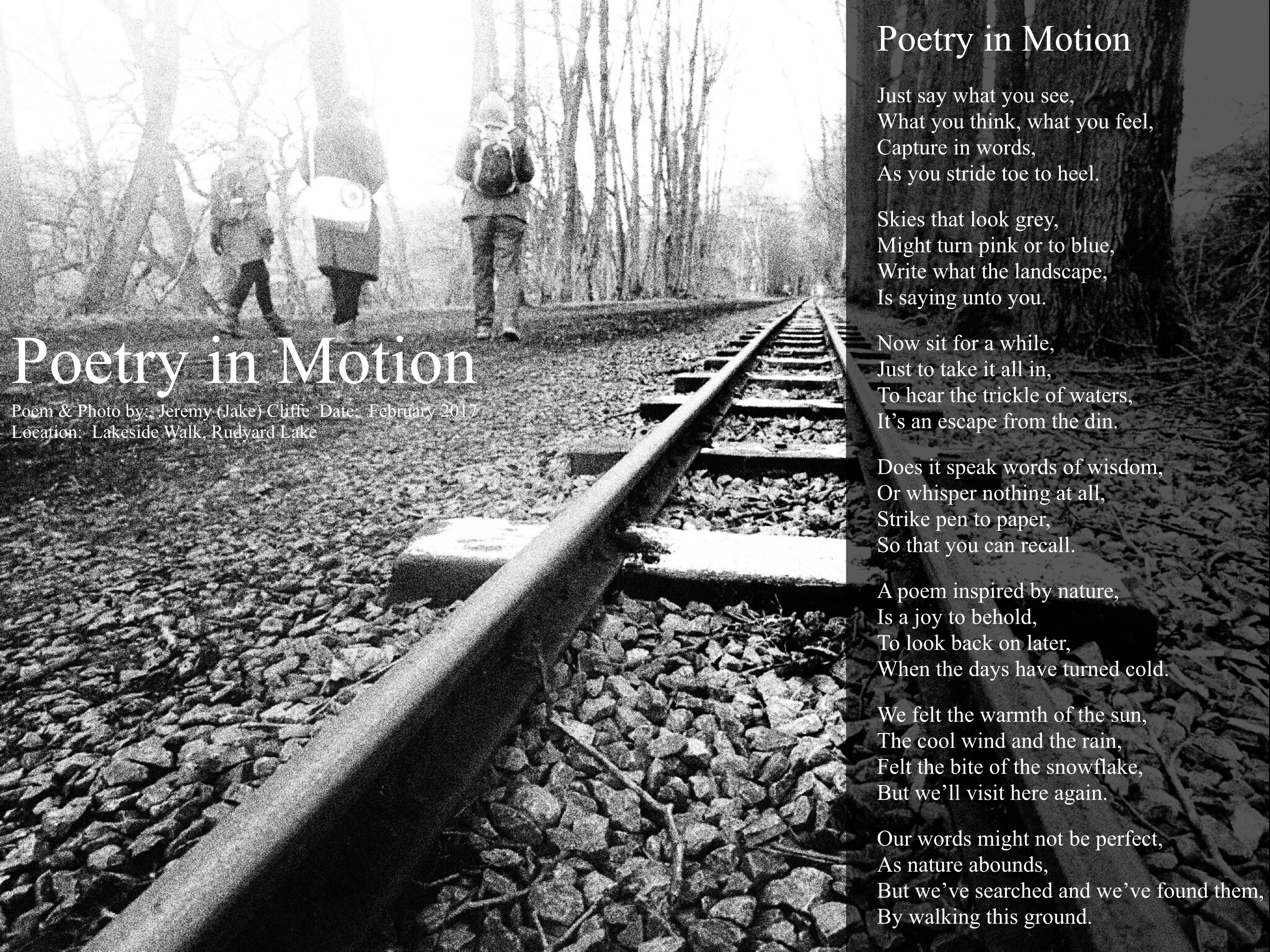 Human-Nature Escapes CIC - Poetry in Motion