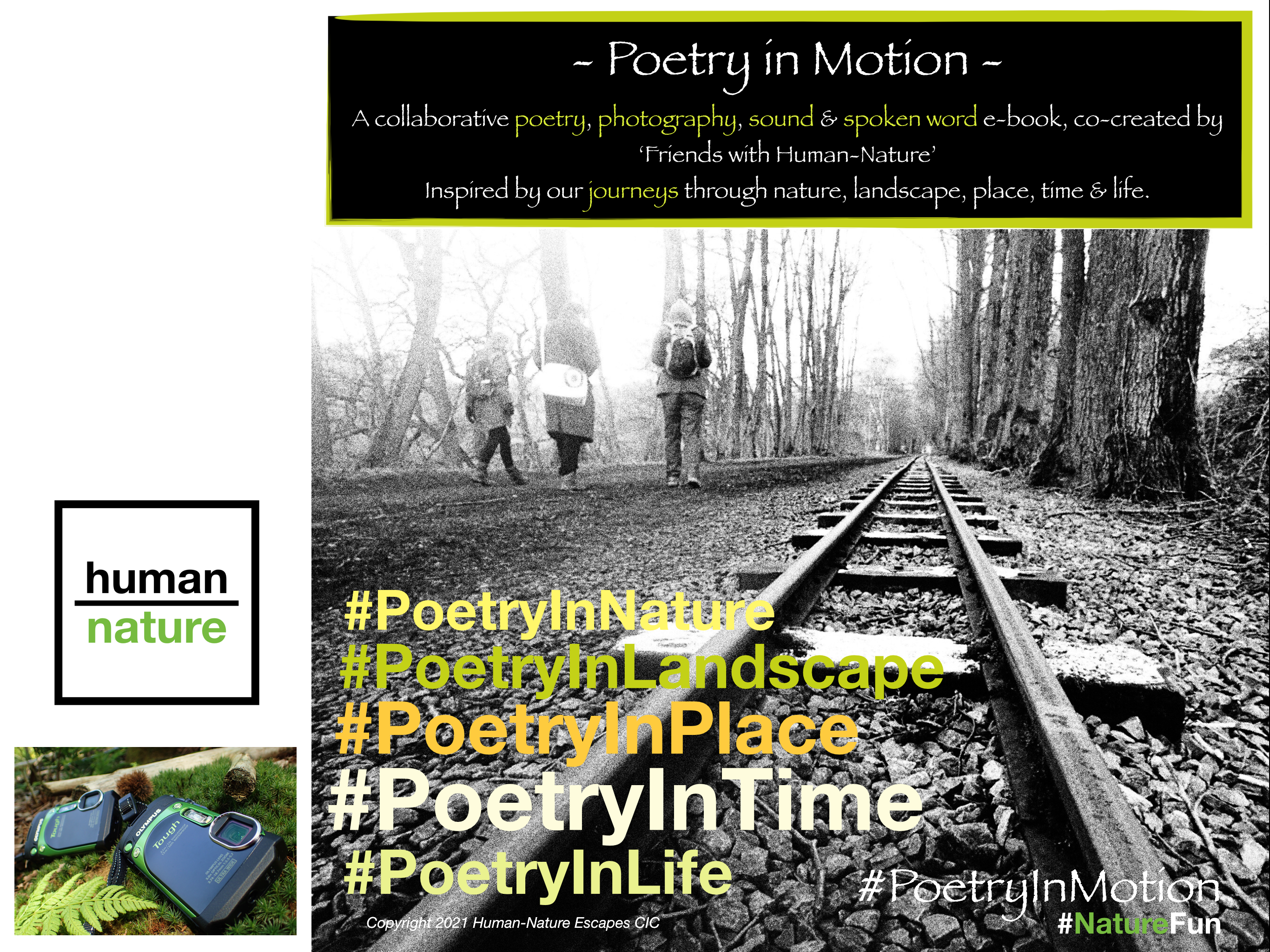 Human-Nature Escapes CIC - Poetry in Motion eBook